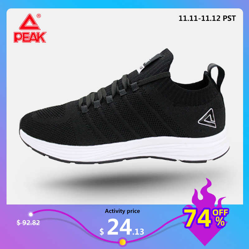 PEAK Running Shoes Men Breathable Mesh