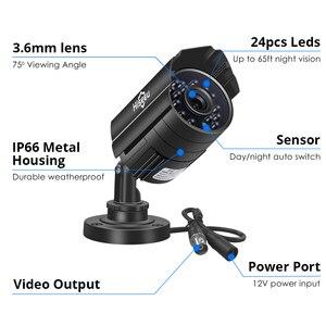 Image 5 - Hiseeu 720P 960P AHD Camera Metal Case Outdoor Waterproof Bullet CCTV Camera Surveillance Camera for cctv DVR system Security