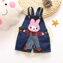 Boy Pants Short Jeans Summer Trousers Toddler Baby-Girls Kids Infant IENENS Overalls