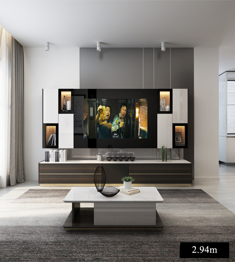 Fzs 019 Length Scalable Tv Stand Table Living Room Home Furniture Modern Style Wooden Panel Tv Stand Tv Cabinet Tv Stands Aliexpress