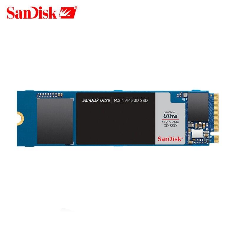 SSD -Диск Sandisk , M2 3D nvme 250 ГБ 500 Гб M2 SSD 1 ТБ pcle NVMe 2280 PCIE SSD M.2 250 Гб HDD PCIe внутренний жесткий диск для настольного компьютера ноутбука