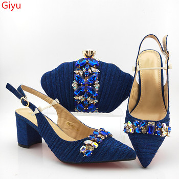 doershow Italy design shoes and matching bag fashion set for party and wedding lady !HAS1-53