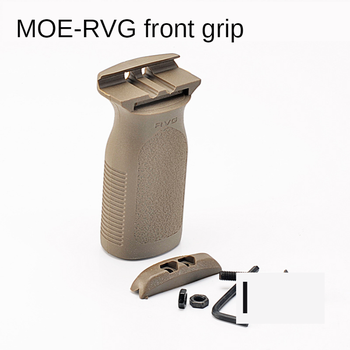MOE-RVG Nylon Grip Water Bomb Vertical  Hunting Water Gun Adjustable Grip Jinming 8 9 Kublai Fine Strike SLR Exciting 416 gel water bomb gun electric water gun for jinming scar shell toy parts intelligence assembled suite