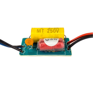 Image 5 - Tenghong 2 قطعة 1 طريقة النقي الصوت التريبل المتحدثون كروس 40W 4/6Ohm سيارة تعديل مكبر كروس تصفية تردد مقسم DIY