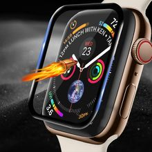 3D Edge HD Tempered Glass for Apple Watch Series 3 2 1 38MM 42MM Screen Protector film for iWatch 4 5 6 SE 40MM 44MM Full glue cheap CN(Origin) Scratch Proof Other for apple watch screen protector for apple watch temepered glass for apple watch glass film