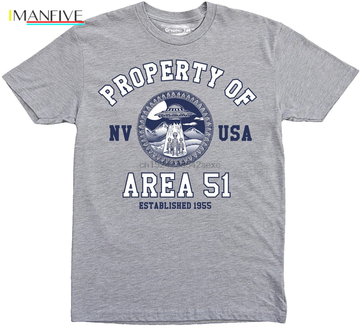 Area 51 t shirt Property of t-shirt UFO Nevada Alien