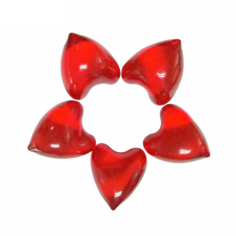 Shower Oils Floral Bath Oils SPA Massage Essential Oil Beads Pearl Flower Aroma Bath Oils Heart-shaped 4.2g