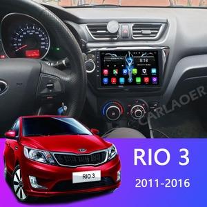 Image 2 - Car Radio For KIA RIO 3 4 2010 to 2016 2017 Car Android Multimedia Video Player Navigation GPS Bluetooth autoradio stereo 2 din