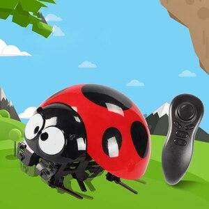Детский подарок, пластиковая интеллектуальная Рождественская забавная игрушка с насекомыми, имитируемая Детская домашняя игрушка с диста...