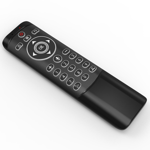 Image 3 - MT1 retroilluminato Gyro Wireless Fly Air Mouse 2.4G telecomando vocale intelligente per X96 mini H96 MAX X2 CUBE Android TV Box vs G20S PRO