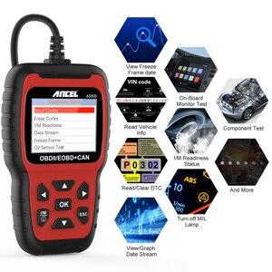Image 2 - Ancel AS500 OBD2 OBD 2 Scanner Engine Code Reader OBD Car Diagnostics Tool Multilingual Free Update ODB2 Automotive Scanner