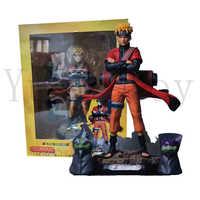 9 zoll Naruto Sage Modus Naruto Shippuden Uzumaki Mit Frosch Action Figur Modell Spielzeug Puppe Geschenk