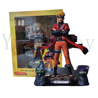 9inch Naruto Sage Mode Naruto Shippuden Uzumaki With Frog Action Figure Model Toy Doll Gift
