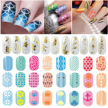 Nail Stickers Manicure Nail Folie Zelfklevend Nail Art Transfer Stickers Water Decals Diy Nail Art Decoratie Voor Nail Tips(China)