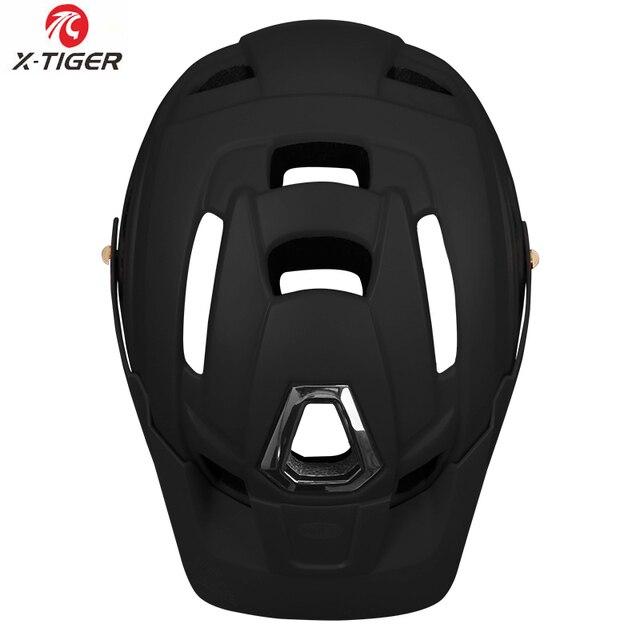 X-TIGER capacete de ciclismo trail xc capacete de bicicleta in-mold mtb capacete da bicicleta de estrada de montanha capacetes de segurança das mulheres dos homens 5