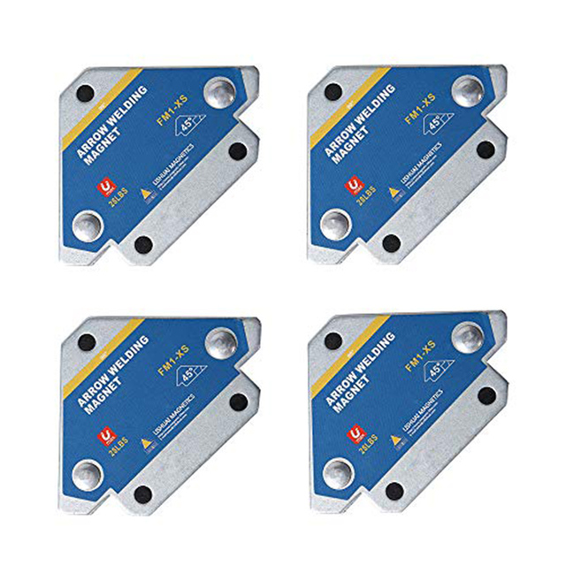 PCS Welding Magnet Magnetic Square Welder Holder Arrow 135° Clamp 90° 45° M0Q5