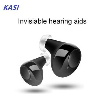 2020 niewidoczny aparat słuchowy akumulator mini aparaty słuchowe dla osób w podeszłym wieku ucho bezprzewodowe aparaty słuchowe utrata słuchu urządzenie Drop Shipping tanie i dobre opinie NoEnName_Null