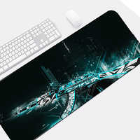 The Cool Guns Pattern Large Size XXL Mousepad Csgo Game Gaming Mouse Pad To Decorate Tabletop for Cs Go Ranbow Six