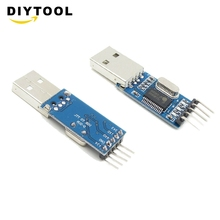 5PCS USB To RS232 TTL PL2303HX Auto Converter Module Converter Adapter arduino yaosheng cp2102 usb to ttl adapter module blue silver