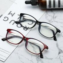 Gafas de lectura ultraligeras para hombres y mujeres, anteojos de marco completo para hipermetropía, de plástico, Anti rayos azules, + 1,5 + 2,0 + 2,5 + 3,0 + 3,5 + 4,0