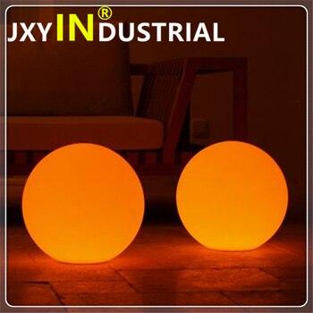 ในสต็อก 20 ซม./30 ซม./40 ซม./50 ซม./60 ซม.พลาสติก PE กันน้ำ LED ball Sphere Globe ในสต็อก