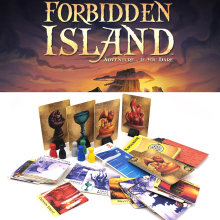 forbidden island board games for adult children family party fun strategy table card game toys birthday gifts home entertainment