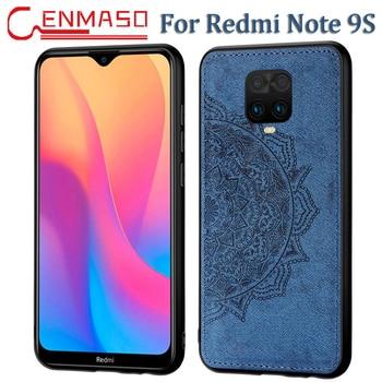 Per la Nota Redmi 9S per il Caso di Xiaomi Redmi K30 Nota 9S 8T 7 8 9 Pro Max 8A 6A 7A Posteriore Della Copertura del Panno del Tessuto Molle Del Silicone della Cassa Bordo