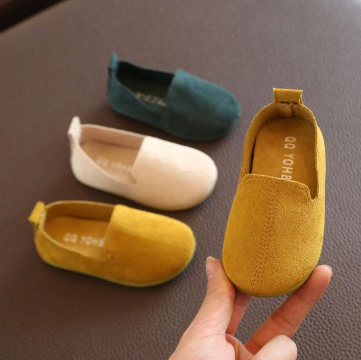 Spring Autumn Baby Girls Boys  Bean Shoes Toddler Shoes 3colors 1-3years 22-27 P01 TX08