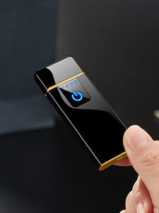 Rechargeable Lighter Usb-Cigarette Gift Tungsten-Heating-Lighter Touch-Induction Creative