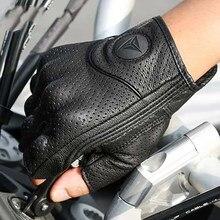 Guantes de moto de cuero auténtico para invierno y verano, equipo de protección para Motocross con pantalla táctil, 2020