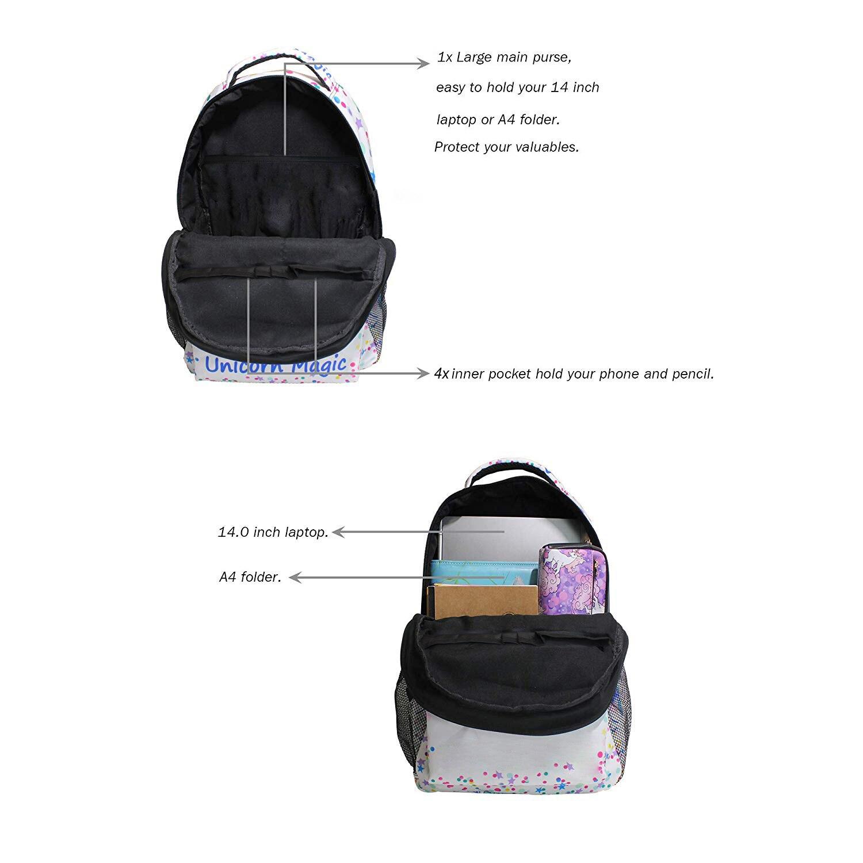Colored Dreamcatcher on Black Sports Bag