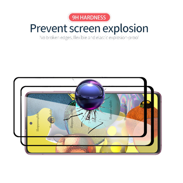 4 In 1 Camera Glass for Samsung Galaxy A51 5G Screen Protector Tempered Glass Samsun A71 A 71 51 A515F A715F Protective Film 6