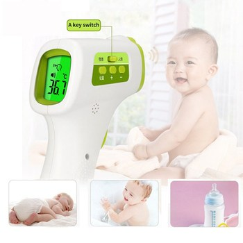 Muti-Fuction Baby/Adult Digital Thermometer Infrared Forehead Body Thermometer Non-Contact Temperature Measurement Device