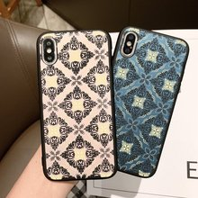 Tfshining Vintage Mandala Palace Flowers Phone Cases For iPhone XS Max XR 6 6S 7 8 Plus X Matte Hard PC Back Cover