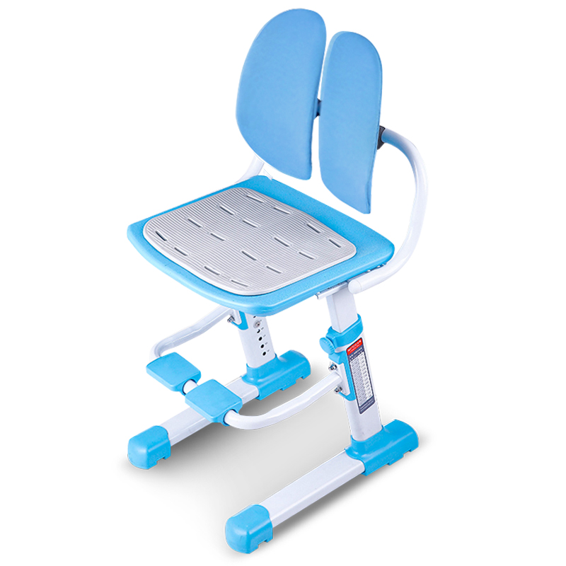 Children Learn Chair Stool Chair Backrest Adjustable Chair Sitting Posture Correction Chair Students Drop Desk Chair