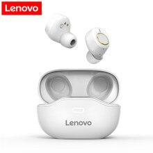 Lenovo X18 TWS bezprzewodowe słuchawki Bluetooth 5.0 podwójny stereofoniczny bas 350MAH HiFi muzyka z mikrofonem dla androida IOS Smartphone