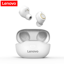 Lenovo X18 TWS Wireless Earphone Bluetooth 5.0 Dual Stereo Bass  350MAH HiFi Music With Mic For Android IOS Smartphone