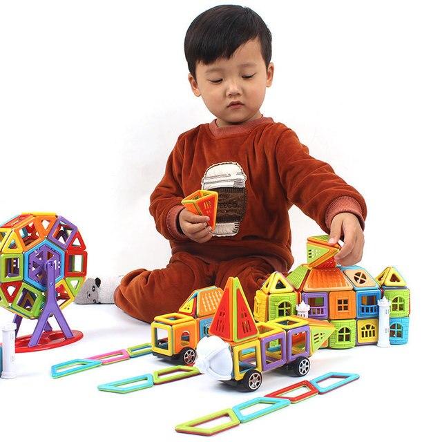 402pcs 3d Diy Magnetic Building Blocks Designer Construction Toys Set Model Magnet Educational Hobbies Toys Or Children Gifts