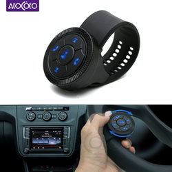 Universal Steering Wheel Remote Bluetooth Wireless Control Buttons for Car DVD Android Navigation Multi-function Rotary Knob