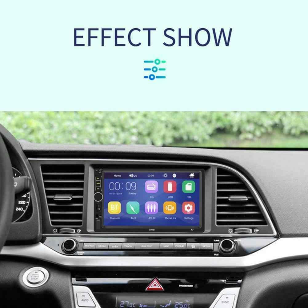 Autoradio 2DIN 車ステレオ MP5 プレーヤー 7in タッチスクリーン bluetoooth usb aux u ディスク fm ラジオ