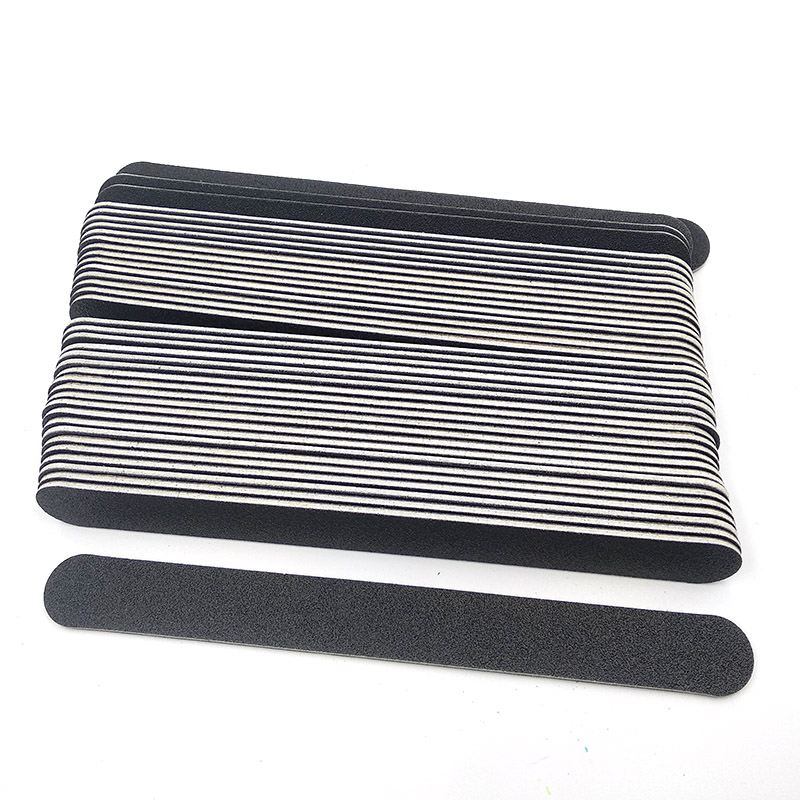 10pcs Professional Nail Buffer Nailfile Buffing Sanding Files Sandpaper Thin Straight Lime Angle Round Head