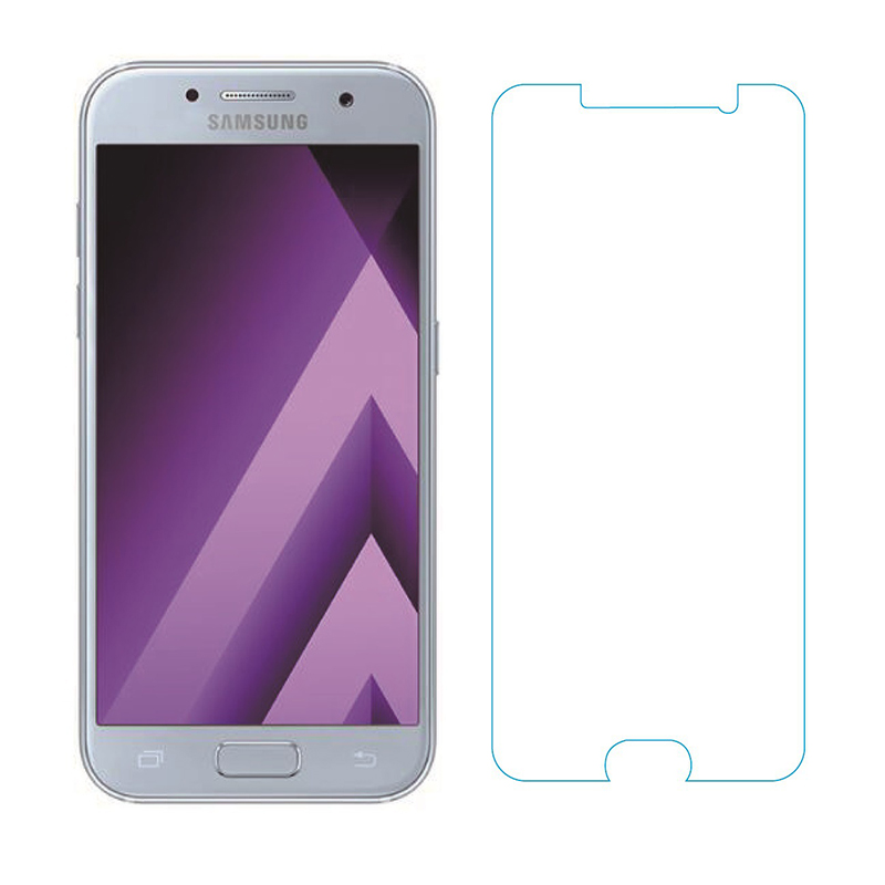 Tempered <font><b>Glass</b></font> For <font><b>Samsung</b></font> Galaxy A5 (2017) A520F A520F/DS A520K/L/S <font><b>A520</b></font> Screen Protector Protective Film <font><b>Glass</b></font> image