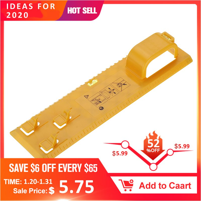 DANIU 1Pcs Multifunction Level Ruler 34.9x9x4.9CM Bubble Level Measuring Tool Picture Frame Hanger ABS Plastic DIY Hand Tool