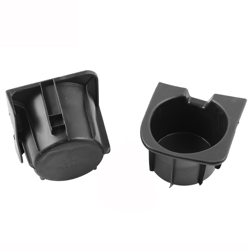 Cup Holder Insert Fits 05-17 Toota Tacoma Black Center Console Right Left