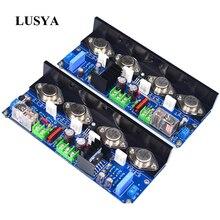 Lusya 2 adet UPC M4 sınıf A ayarlanabilir ateş derecesi HIFI güç amplifikatörü kurulu 180W ses amplifikatörü T0206