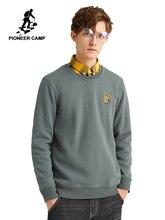 Pioneer Camp sweat à capuche pour homme hiver coton décontracté col rond mode Streetwear sweats pour homme 2020 AWY907493