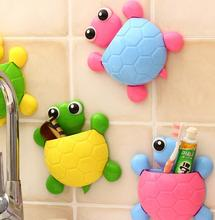 The Cute Little Turtle Toothbrush Holder Suction Ladybird Toothpaste Wall Sucker Bathroom Sets Household Merchandises Set