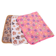 3Pcs Pet blanket Plush Pet Mat Coral Fleecy Doghouse Mat for Pet Dog (Beige+ Brown+ Rose Red)(China)