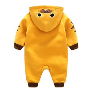 Image 4 - Autumn winter Cotton Newborn Baby Clothing Long Sleeve Baby boy Girl Clothing Jumpsuits toddler Clothes