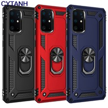 Luxury Armor Magnetic Case For Samsung Galaxy A51 A71 A20E A20 A21 A21s A30 A50 A70 A41 A31 S8 S9 S20 Plus S10 Lite Ring Cover